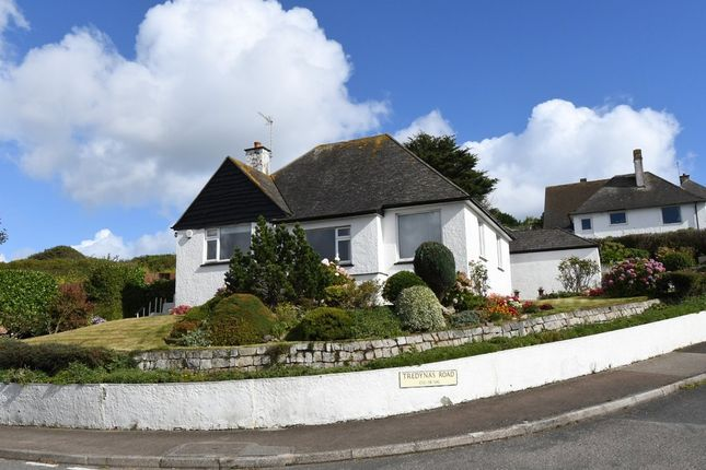 Thumbnail Detached bungalow for sale in Tredynas Road, Falmouth