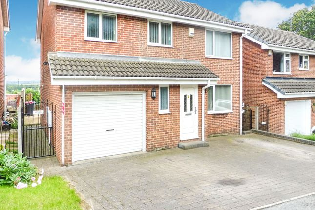 Thumbnail Detached house for sale in Haworth Crescent, Moorgate, Rotherham