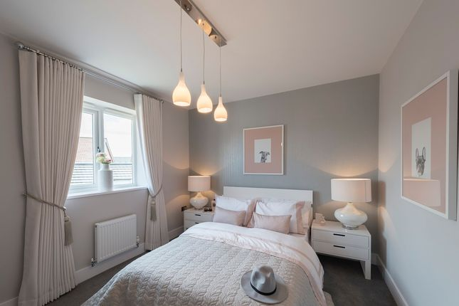 Thumbnail Semi-detached house for sale in Plot 100, The Webster, Egstow Park, Off Derby Road, Clay Cross, Chesterfield