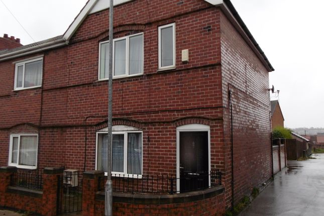 Thumbnail Terraced house to rent in Cambridge Street, South Elmsall
