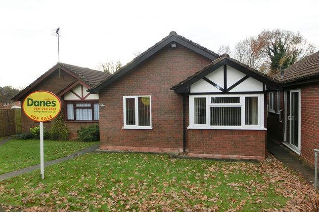 Thumbnail Detached bungalow for sale in Hunscote Close, Shirley, Solihull