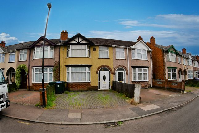 Thumbnail Terraced house to rent in Armstrong Road, Stoke Aldermore, Coventry