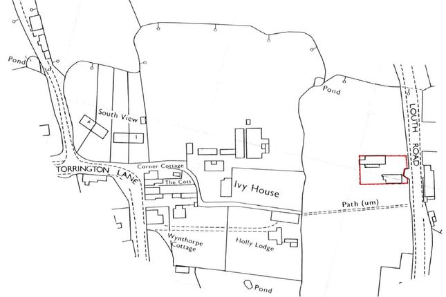 Freehold Plot  of The Old Workshop, Louth Road, East Barkwith, Market Rasen, 5, Market Rasen LN8
