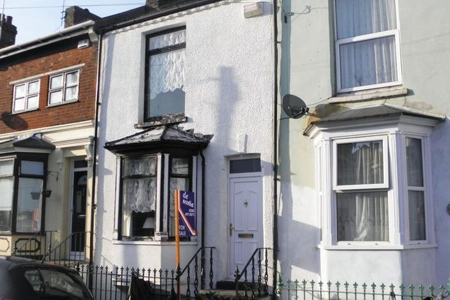 Thumbnail Terraced house for sale in Anns Road, Ramsgate