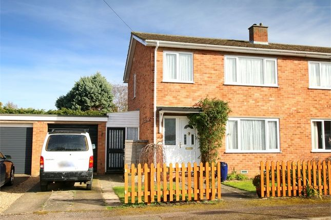 Thumbnail Semi-detached house for sale in St. Anselm Place, St. Neots