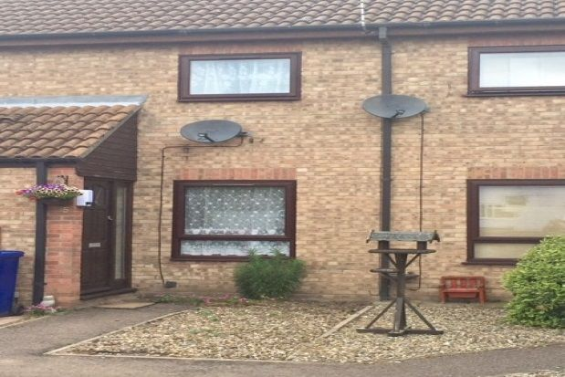 Thumbnail Terraced house to rent in Amis Court, Lakenheath, Brandon