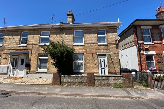 Thumbnail End terrace house for sale in Stourfield Road, Southbourne, Bournemouth