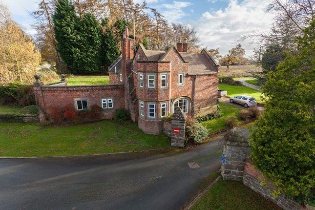 3 bed detached house for sale in Adderley, Market Drayton