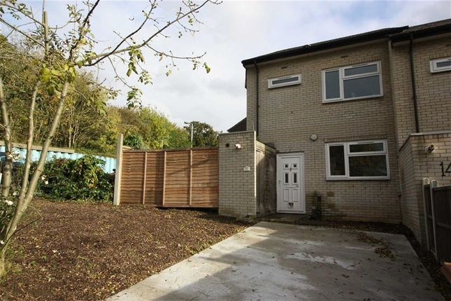 Thumbnail End terrace house to rent in Blandford Crescent, London
