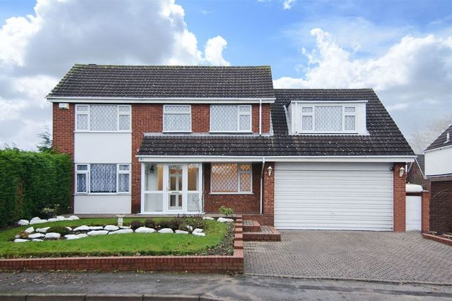 Thumbnail Detached house for sale in Elder Lane, Chase Terrace, Burntwood