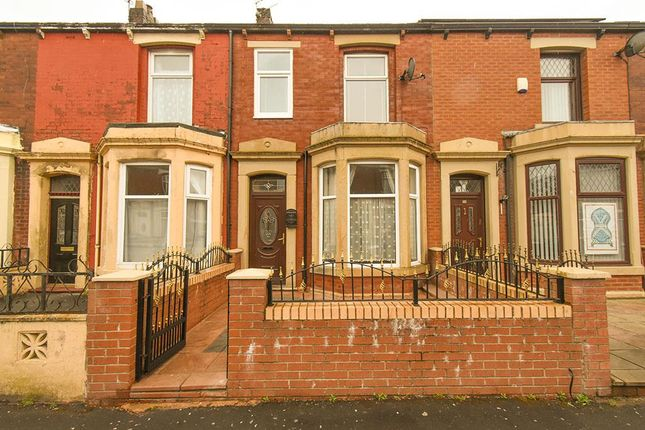 Thumbnail Terraced house for sale in Leamington Road, Blackburn
