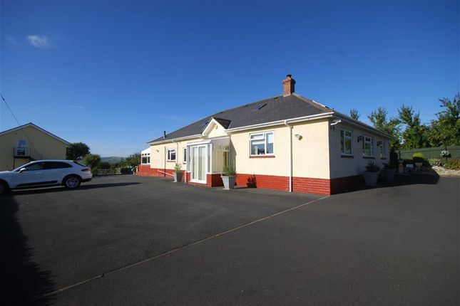 Thumbnail Detached bungalow for sale in Hereford Road, Ledbury, Herefordshire
