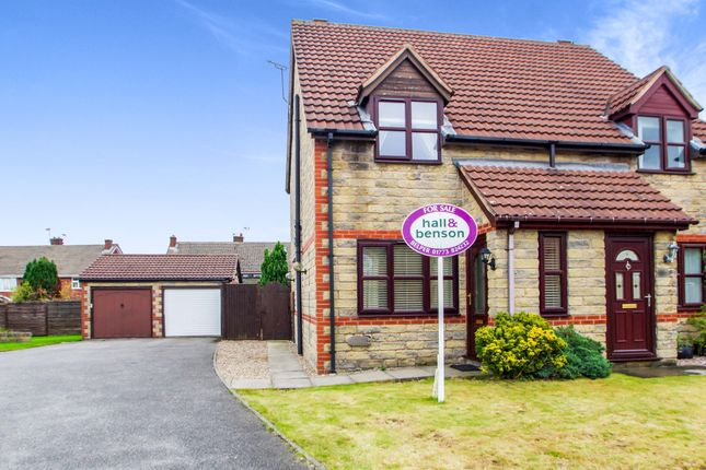 Thumbnail Semi-detached house for sale in Hickleton Close, Ripley