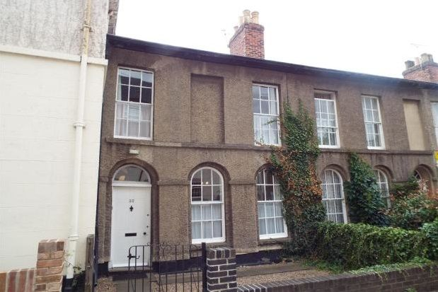 Thumbnail Terraced house to rent in South Street, Ashby-De-La-Zouch