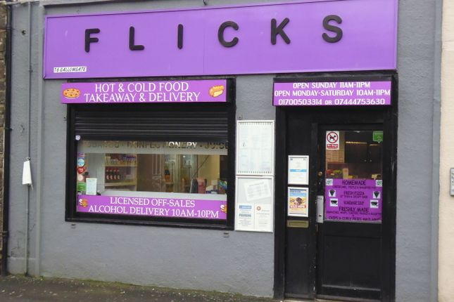 Retail premises for sale in Flicks, 16, Gallowgate, Rothesay, Isle Of Bute