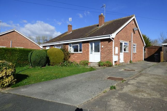 Thumbnail Semi-detached bungalow for sale in Brionne Way, Longlevens, Gloucester