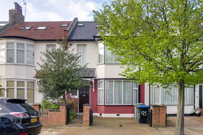 Thumbnail Terraced house for sale in Whitmore Gardens, London