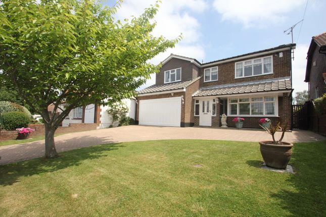 Thumbnail Detached house for sale in Wellington Road, Rayleigh