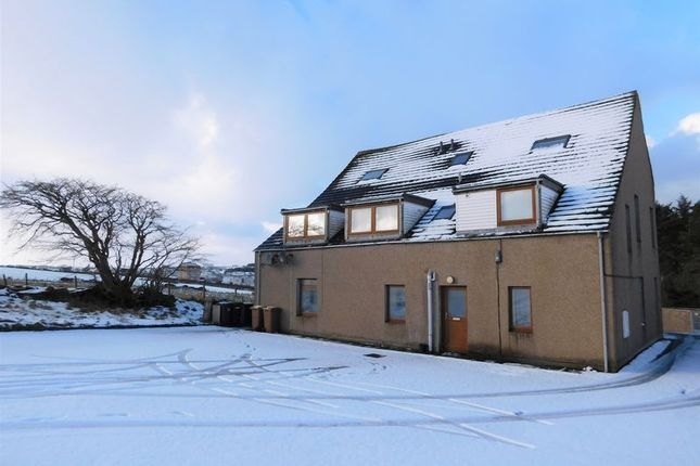 Thumbnail Flat for sale in Thurso