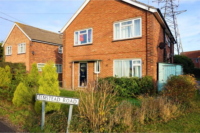 Thumbnail Maisonette for sale in Elmstead Road, Colchester
