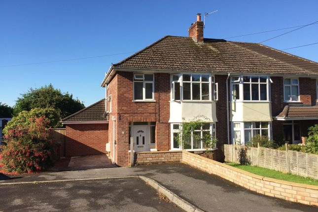 Thumbnail Semi-detached house for sale in Penn Close, Wells