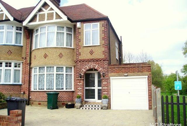 Thumbnail Semi-detached house to rent in Laurel Way, Woodside Park, London