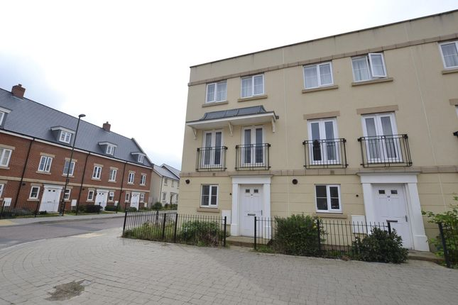 Thumbnail End terrace house to rent in Yew Tree Road, Brockworth, Gloucester