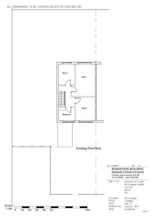Floorplan of Chisbury Green, Clifton, Nottingham NG11