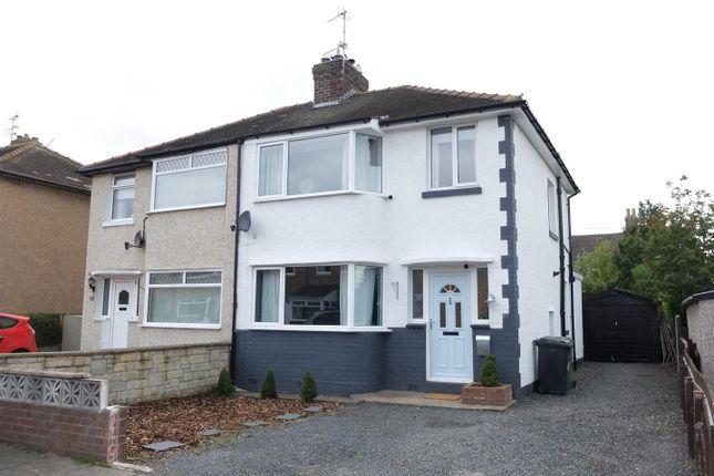 Thumbnail Semi-detached house for sale in Etterby Lea Crescent, Carlisle