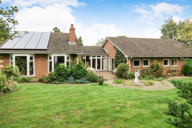 Thumbnail Detached bungalow for sale in Barnberry Way, Kirkby Underwood, Bourne