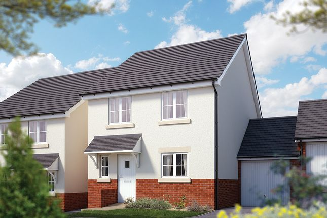 """Thumbnail Semi-detached house for sale in """"The Salisbury"""" at Chard Road, Axminster"""