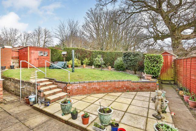 Thumbnail Detached bungalow for sale in St Walstans Road, Taverham, Norwich