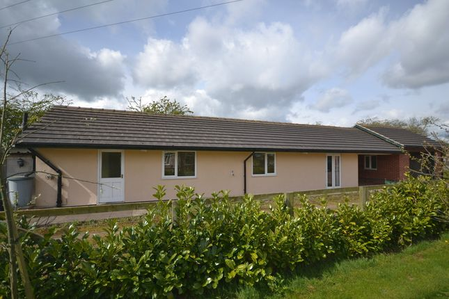 Thumbnail Detached bungalow to rent in Marsh Lane, Cheswardine, Market Drayton