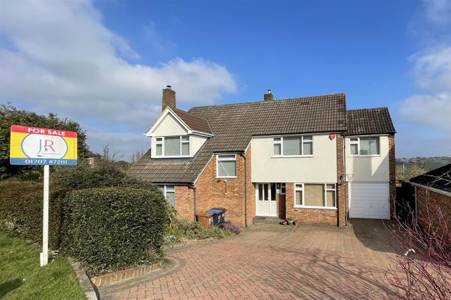 Thumbnail Detached house for sale in Church Close, Cuffley, Potters Bar