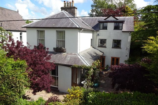 Thumbnail Detached house for sale in Camden Road, Brecon, Powys