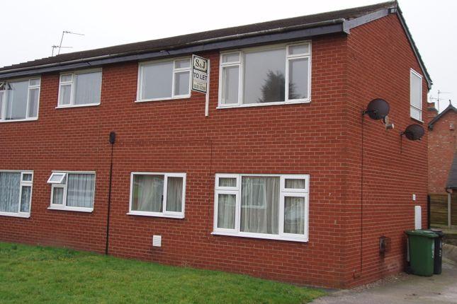 Thumbnail Flat to rent in Simons Road, Market Drayton