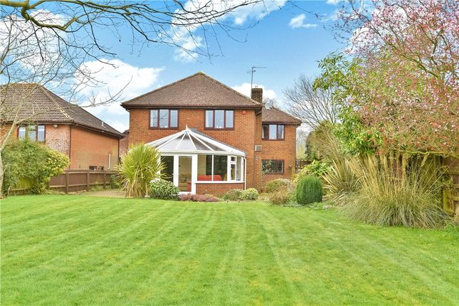 Thumbnail Detached house for sale in Old Rectory Close, Corfe Mullen, Wimborne