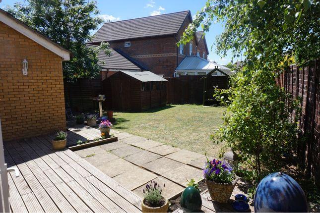 Rear Garden of Thor Drive, Bedford MK41