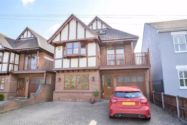Thumbnail Detached house for sale in Fairview Gardens, Leigh On Sea, Essex