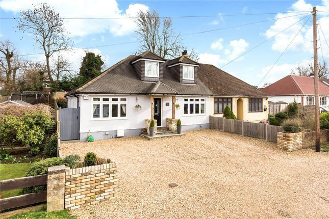 Thumbnail Semi-detached bungalow for sale in Wildwood Avenue, Bricket Wood, St. Albans, Hertfordshire