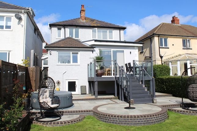 Thumbnail Detached house for sale in Cleveland Avenue, Mumbles, Swansea
