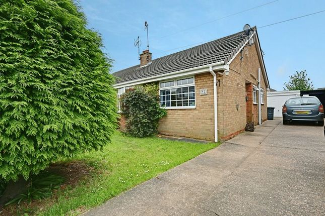 Thumbnail Semi-detached bungalow for sale in Oxenhope Road, Hull