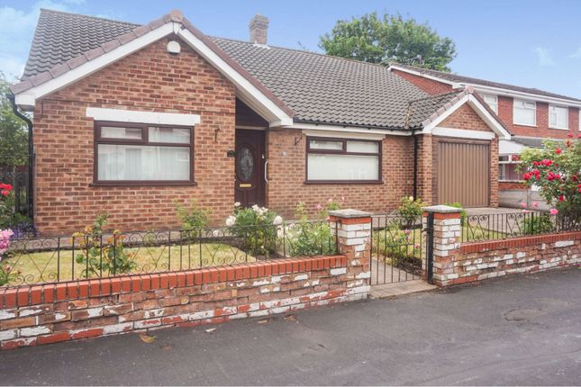 Thumbnail Detached bungalow for sale in New Road, Prescot