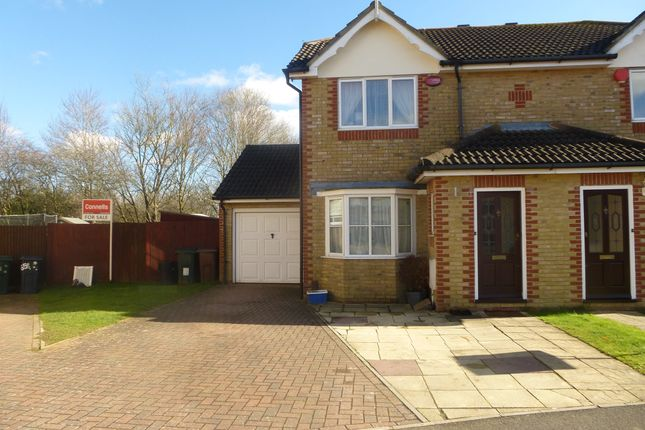 Thumbnail Semi-detached house for sale in Manor House Drive, Kingsnorth, Ashford