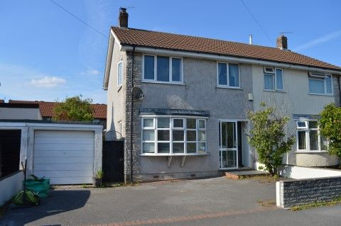 3 bed semi-detached house for sale in Marlborough Drive, Worle, Weston-Super-Mare