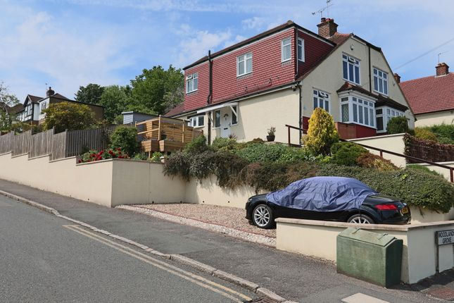 Thumbnail Semi-detached house for sale in Woodlands Grove, Chipstead, Coulsdon