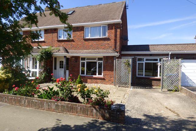 Thumbnail Semi-detached house for sale in Meadow Way, Littlehampton