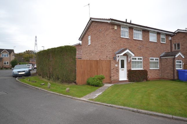 Thumbnail Semi-detached house to rent in Cardigan Grove, Trentham, Stoke-On-Trent
