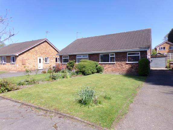 Thumbnail Bungalow for sale in Newent Close, Willenhall, Walsall