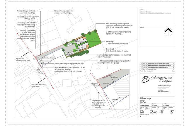 Thumbnail Land for sale in Kings Road, Wolverhampton